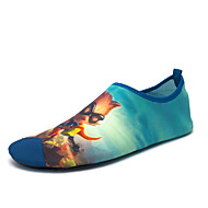 Unisex Athletic Shoes Spring / Summer / Fall Comfort / Jelly Fabric Outdoor / Athletic Flat Heel Slip-on Blue / Yellow / RedWater Shoes /
