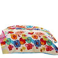 Flanel Vícebarevný,Jednolitý Květiny 100% polyester přikrývky 200x230cm