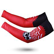ספורטיבי חולצת ג'רסי לרכיבה יוניסקס חצי שרוול אופנייםנושם / ייבוש מהיר / עמיד אולטרה סגול / עמיד לאבק / נגד החלקה / מגביל חיידקים / תומך