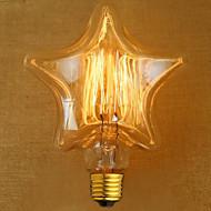 edison amarelo decoração da luz fonte de luz da lâmpada retro tungstênio (e27 40W)
