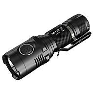 Nitecore® LED svítilny LED 1000 Lumenů 5 Režim Cree Batterie lithium Odolný proti nárazům / Kompaktní velikost / Ultra lehkéKempování a