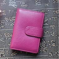 Унисекс Яловка Для профессионального использования Визитница / бумажник