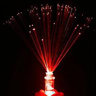 Luminescent Fiber Small Night Light LED Colorful Candles Rose Color Random