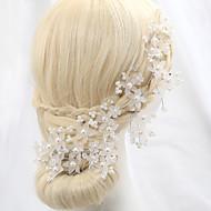 Ženy Křišťál Slitina Imitace perly Přílba-Svatba Zvláštní příležitost Outdoor Květiny