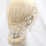Mujer Cristal Aleación Perla Artificial Celada-Boda Ocasión especial Al Aire Libre Flores