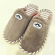 Men's Fashion Slippers & Flip-Flops Comfort Casual Flat Heel Slip-on Gray / Coffee Walking EU39-43