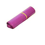 impermeável expressa tamanho roxo saco vermelho 25 * 39 centímetros (um pacote de 100)