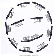 Klipsy Klipsy Wig Accessories Plastic 20 Nástroje paruky vlasy