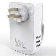2a multi-função de carga rápida tomada de corrente (usb linha plugue canguru)