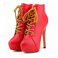 Women's Boots Fall / Winter Platform / Shoes & Matching Bags Office & Career / Party & Evening / Casual Stiletto Heel