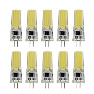 9 G4 נורות שני פינים לד T 1 COB 350 lm לבן חם / לבן קר דקורטיבי AC 220-240 V עשרה חלקים
