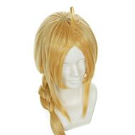 Fullmetal Alchemist Edward Elric specjalnego złota stylizacji halloween peruki peruki syntetyczne peruki kostiumy