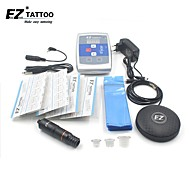 Kompletní Tattoo Kit 1 x rotační tetovací strojek pro linky a stínování 1 Tetovací strojky LED napájení Inkousty doručena odděleně