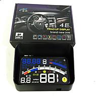 4e 5.5 carro obd2 ii carro euobd HUD cabeça-up display de velocidade excessiva projector sistema de alerta pára-brisa auto alarme