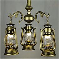 3W Závěsná světla ,  Tradiční klasika Obraz vlastnost for LED KovObývací pokoj / Ložnice / Jídelna / studovna či kancelář / dětský pokoj