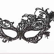 Fashion Swan Pattern Lace Party Mask Halloween Props Cosplay Accessories