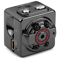 Metal Mini Videokamera 720P 1080P Sort
