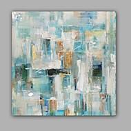 Ručně malované Abstraktní olejomalby,Moderní / Klasický Jeden panel Plátno Hang-malované olejomalba For Home dekorace