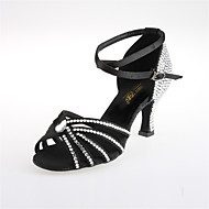 Women's Rhinestone / Satin Modern / Ballroom Dance Shoes(More Colors)