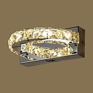 AC 85-265 8 Integroitu LED Moderni/nykyaikainen Maalaus Ominaisuus for Kristalli,Ympäröivä valo Wall Light
