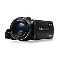 Other Plástico Multi-función de cámara 1080P / Anti golpe / detección de sonrisas / Pantalla Táctil / WIFI / LCD inclinable Negro 2.8