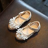Djevojčice Ravne cipele PU Proljeće Jesen Kauzalni Svjetlucave šljokice Mat selotejp Ravna potpetica Zlato Pink Pink Ravne