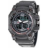 D-ZINER Fashion Watch Men Waterproof LED Sports Military Watch Shock Resistant Men's Quartz Digital Watch relogio masculino 8143