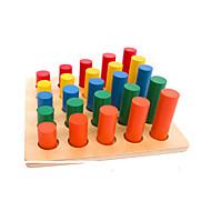 צעצוע חינוכי גלילי עץ
