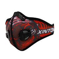XINTOWN® אופנייים/רכיבת אופניים מסכת פנים עמיד למים / נושם / עמיד / נגד חשמל סטטי / מפחית שפשופים / נוח ניילון / טאקטלטיפוס / כושר גופני