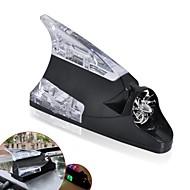 ziqiao Haifischflosse sind mit universellen Windkraft Antenne Auto-Lampe LED-Licht