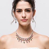תכשיטים 1 שרשרת / 1 זוג עגילים Halloween / חתונה / Party 1set נשים כמו בתמונה מתנות חתונה