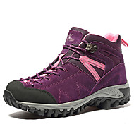 Women's Athletic Shoes Winter Comfort Leather Outdoor Casual Athletic Flat Heel Others Purple Gray Hiking