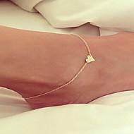 Dames Enkelring /Armbanden Legering Liefde Eenvoudige Stijl Modieus Europees Met de hand gemaakt Sieraden Voor Bruiloft