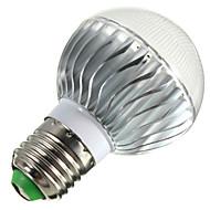 5W E14 / E26/E27 / B22 Lâmpada Redonda LED B 3 LED de Alta Potência 400 lm RGB Regulável / Controle Remoto / Decorativa AC 85-265 V 1 pç