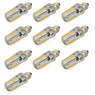 7W E12 LED corn žárovky Trubice 152 SMD 3014 580 lm Teplá bílá / Chladná bílá Ozdobné V 10 ks