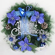 christmas seppele neulasia joulukoristeita kotiin osapuoli halkaisija 40cm navidad uusi vuosi tarvikkeita