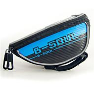 FahrradtascheFahrradlenkertasche Wasserdicht / Reflexstreifen / Multifunktions / Touchscreen / Telefon/Iphone Tasche für das Rad