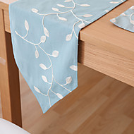 obdélníkový Se vzorem / Květinový stolní ubrus , Směs bavlny Materiál Hotel Jídelní stůl / Tabulka Dceoration