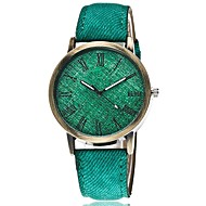 Men's Women's Sport Watch Dress Watch Fashion Watch Wrist watch Quartz Punk Colorful Fabric BandVintage Candy color Bohemian Charm Cool