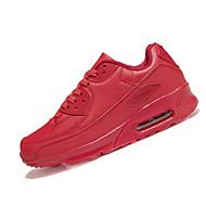 Urheilukengät-Tasapohja-Naisten-PU-Musta Pinkki Punainen Valkoinen-Rento Urheilu-Comfort