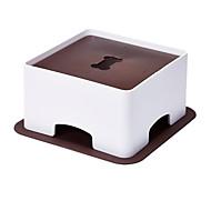 Chat / Chien Mangeoires Animaux de Compagnie Bols & alimentation Pliable / Mignon Blanc / Kaki Plastique
