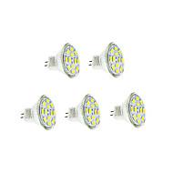 3w gu4(mr11)フィラメント電球12 smd 5730 250-300 lm暖かい白/涼しい白dc 12 v 5個