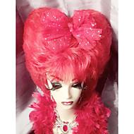 100%カネカロン髪 コスプレウィッグ 合成 フルレース ウィッグ ロング丈 非常に長いです レッド ヘア