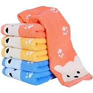 6pcs מגבת פנים כותנה איכותית bathtowel מגבת אצבע