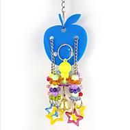 Bird Toys Metal Plastic Multi-Color