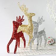 3 fargerjuledekorasjon gaver rolle ofing juletrepynt julegave julen rein