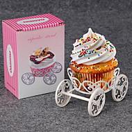 1 אֲפִיָה לקישוט עוגות / כלי אפייה Cupcake מתכת מעמדים לעוגות
