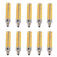 15W E11 LED лампы типа Корн T 136 SMD 5730 1200-1400 lm Тёплый белый / Холодный белый Регулируемая / Декоративная V 10 шт.