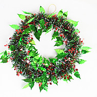 jul krans fyrrenåle juledekoration til 35cm homeparty diameter navidad nytår forsyninger