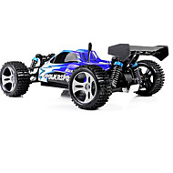 WLtoys A959 1 / 18 Scale 2.4G RC OFF - Road Racing Car with Anti - vibration System - US Plug - EU PLUG  BLUE
